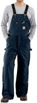 Carhartt Zip-to-Thigh Bib Overalls - Quilted Lining (For Men)