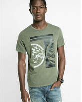 Express Inverse Lion Graphic T-shirt