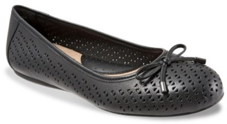 SoftWalk Napa Laser Ballet Flat