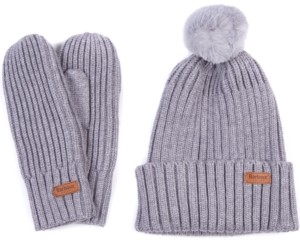 Barbour Whitlaw Beanie & Mittens