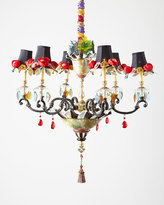 Mackenzie Childs MacKenzie-Childs Dark Everlasting Large 6-Light Chandelier