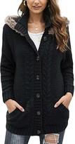Vlrsy VLRSY Women's Cardigans Black - Black Cable-Knit Cardigan - Women