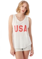 Alternative Muscle Printed Cotton Modal Tank Top