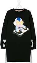Fendi printed T-shirt dress