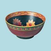 Unknown Bowls Stoneware Colored Decorative Bowl 4 3/4'' H X 10'' Dia