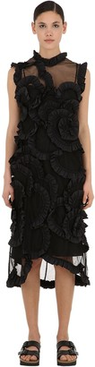 MONCLER GENIUS Simone Rocha Silk & Nylon Dress