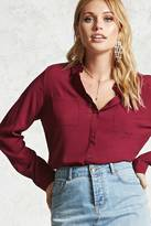 Forever 21 FOREVER 21+ Button-Down Shirt