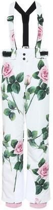 Dolce & Gabbana Floral ski pants