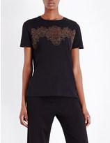 Sandro Kenji cotton-jersey t-shirt