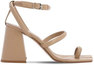 Maison Margiela 90mm Leather Toe Ring Sandals