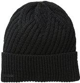 Calvin Klein Men's Geometric Rib Fold Up-Cuff Hat