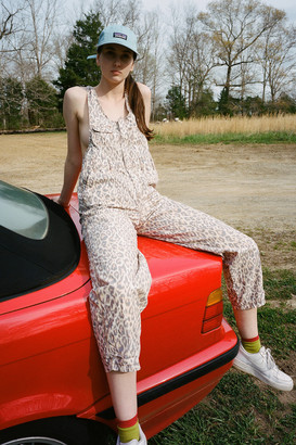 Urban Outfitters Camille Cotton Printed Overall