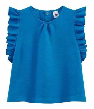 Petit Bateau Girls' Blouse MC_4748401 T - Shirt