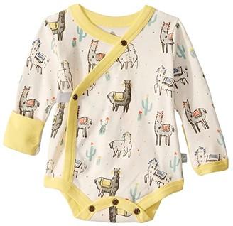 finn + emma Llama Long Sleeve Bodysuit (Infant) (Llama) Kid's Jumpsuit & Rompers One Piece