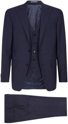 Corneliani Wool Three-Piece Suit