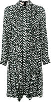 Marni geometric print shirt dress - women - Silk - 42