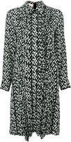 Marni geometric print shirt dress