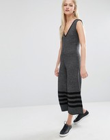 NATIVE YOUTH Wide Leg Knitted Jumpsuit