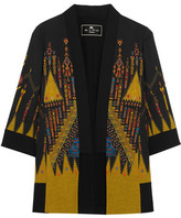 Etro Printed Crepe Jacket - Black