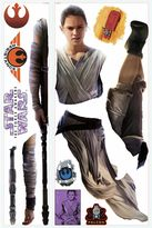 "Star Wars Star WarsTM ""Episode VII: The Force Awakens"" Rey Peel-and-Stick Giant Wall Decals"