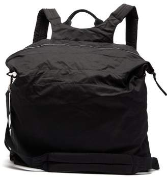 Rick Owens Oversized Nylon Backpack - Mens - Black