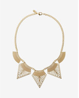 Express filigree statement necklace