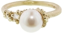 Ruth Tomlinson Pearl Encrusted Ring with Diamonds