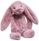 Jellycat Medium Bashful Bunny Stuffed Animal, Tulip Pink