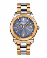 Salvatore Ferragamo Two-Tone Stainless Steel Watch
