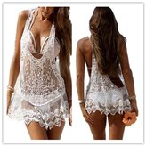 HeartBee Floral Crochet Lace Swimwear Summer Beach Dress Bikini Cover Up