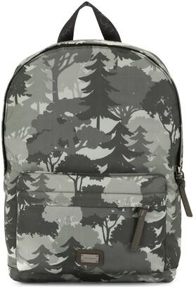 Dolce & Gabbana Kids Tree Print Backpack
