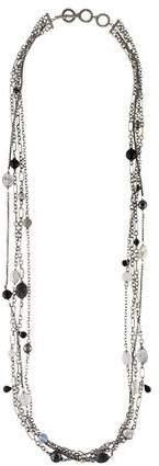 David Yurman Pearl & Multistone Bijoux Multistrand Necklace