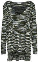 Jacqueline De Yong Hi-Lo Knit Pullover Sweater