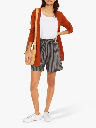 White Stuff Polly Longline Cardigan, Orange