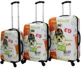 Chariot Fly Dog 3-piece Luggage Set