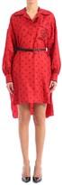 Fendi Red Silk Dress