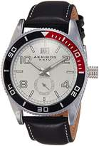 Akribos XXIV Men's AK859SS Round Silver-Tone Watch