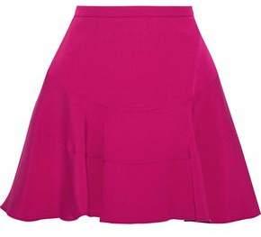Antonio Berardi Flared Crepe De Chine Mini Skirt