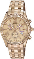 Citizen 40mm Chronograph Bracelet Watch, Pink/Gold