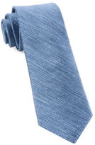 The Tie Bar Textured Linen Silk Tie