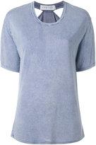 IRO 'Tylan' cutout faded effect T-shirt - women - Polyester/Viscose - XS