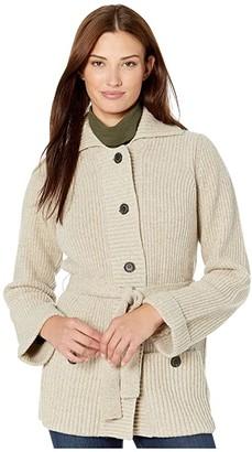 Pendleton Coos Curry Cardigan (Cornsilk) Women's Sweater