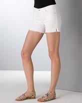 Frayed Shorts in New White Wash
