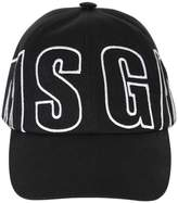 MSGM Logo Embroidered Cotton Baseball Hat