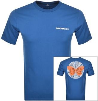 Converse Butterfly Logo T Shirt Blue