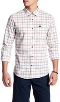 RVCA That&ll Do Plaid Long Sleeve Shirt