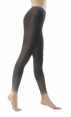 Metelam Womens High Stretch Fabric Ultra Soft and Elastic Smooth Oil Shiny Leggings (Black)