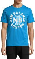New Balance Men's Boston Printed Cotton T-Shirt