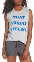 Junk Food Clothing Women's That Friday Feeling Tank