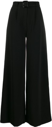 Ainea high-waisted palazzo trousers